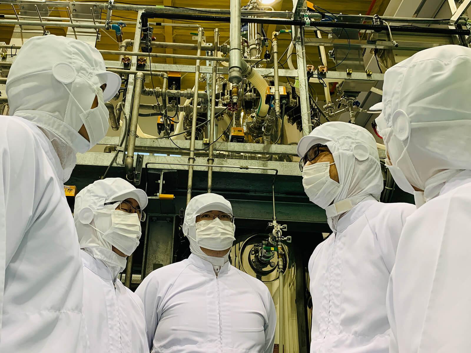 ライラック乳酸菌製造プラント